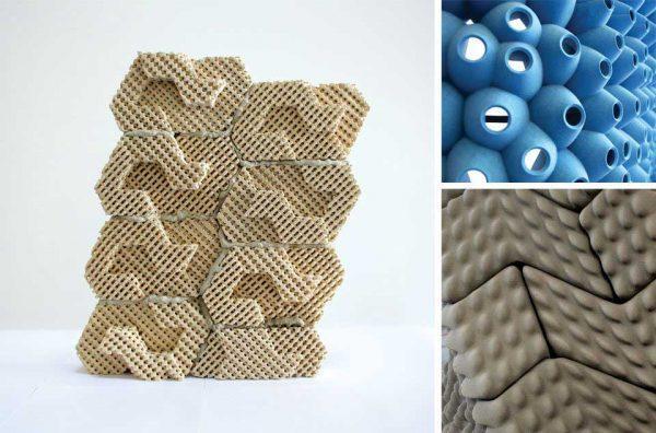 Структура кирпича Cool Brick