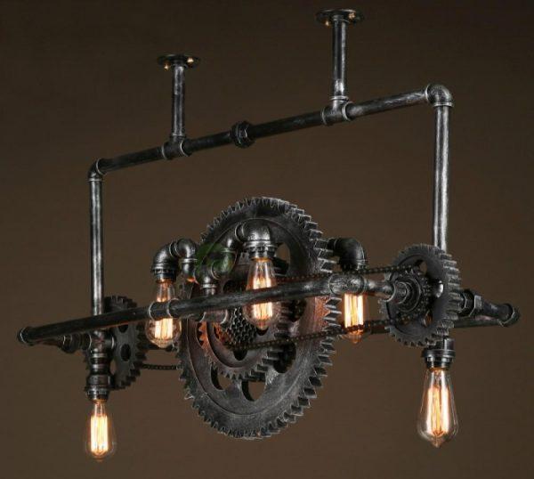 Светильник в индустриальном стиле