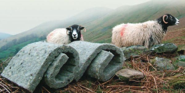 Утеплитель из шерсти овец