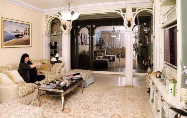 Гостиная в московской квартире