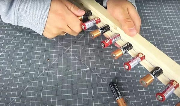 Использование старых батареек