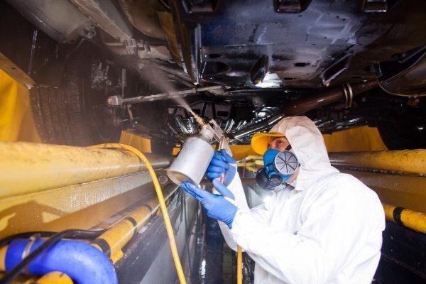 Подготовка авто к антикоррозионной обработке