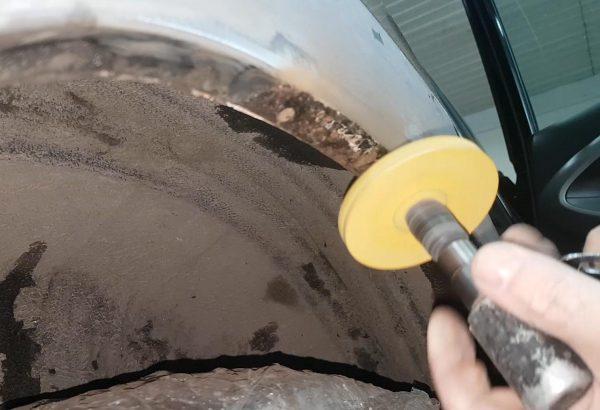 Подготовка к нанесению мастики