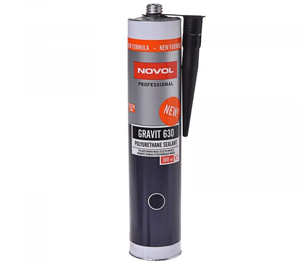 Полиуретановый Novol GRAVIT 630, чёрный, 300 мл