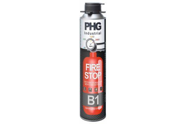Противопожарная монтажная пена PHG Industrial FireStop B1