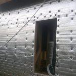 Утепление фасада дома вспененным полиэтиленом