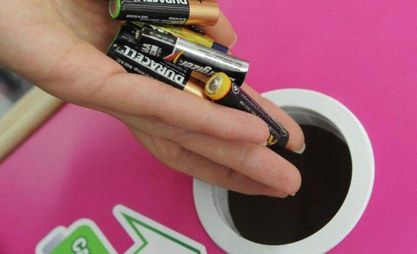 Восстановление заряда батареек