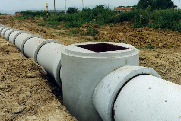 Безнапорные трубы для ливневой канализации