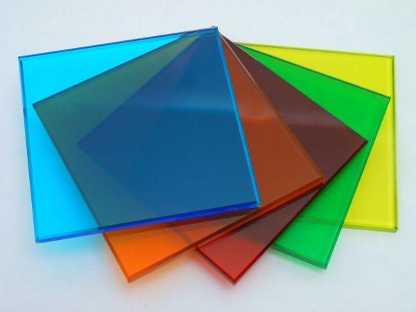 Цветной монолитный поликарбонат Borrex