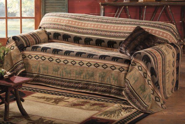 Декорирование старого дивана