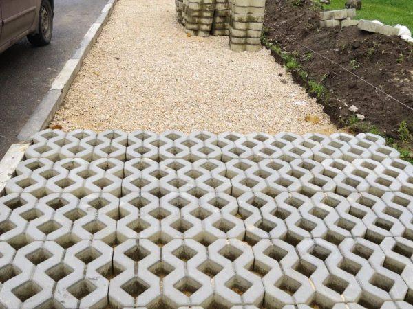 Газонная решетка для парковки