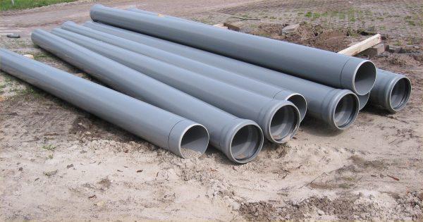 Канализационные трубы для отливки столбов