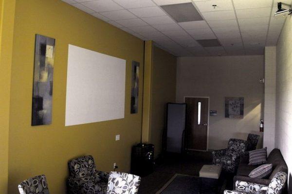 Краска для стен под проектор