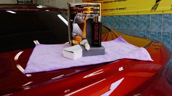 Нанесение жидкого стекла на кузов автомобиля