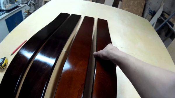 Новые подлокотники для дивана