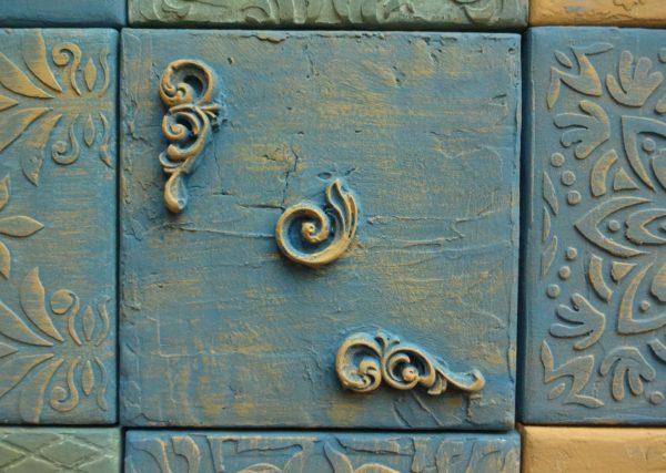 Объемная декоративная плитка