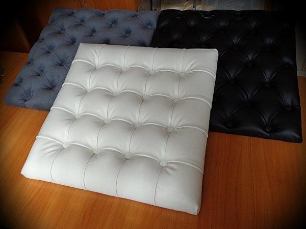 Подушки с каретной стяжкой