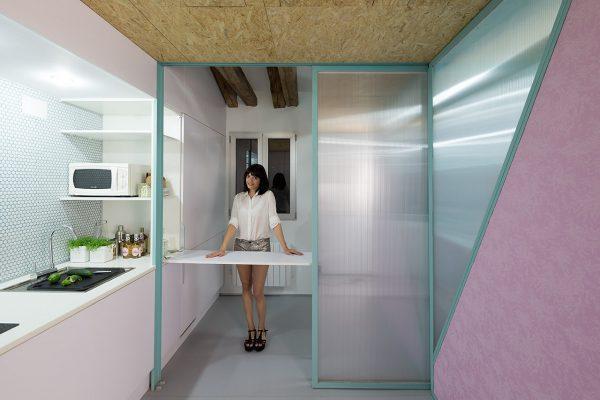 Поликарбонат в интерьере квартиры