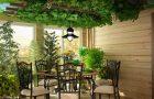 Сад на потолке