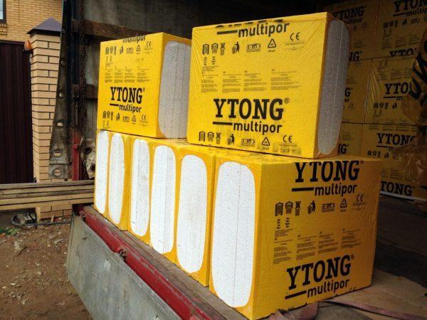 Теплоизолирующие плиты Multipor от Ytong