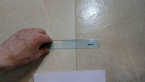 Толщина шва ректифицированной плитки
