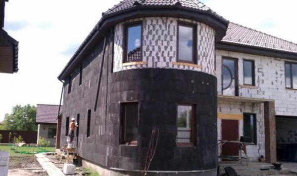 Утепление фасада пластмиграном