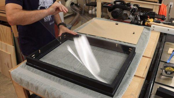 Изготовление каркаса для бесконечного зеркала