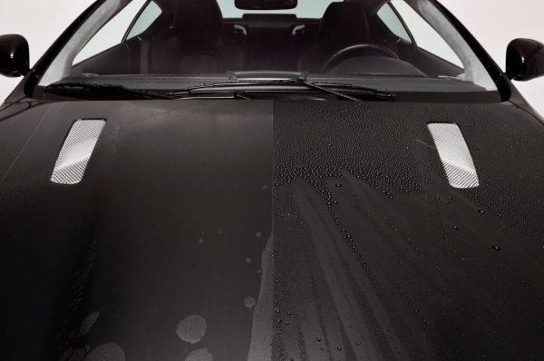 Кварцевое покрытие автомобиля