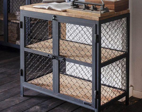 Мебель из металлической сетки