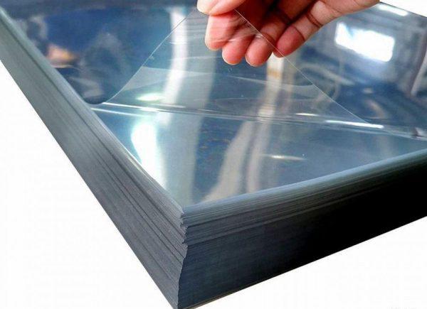 Монолитный листовой пластик ПЭТ-А