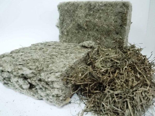 Плиты из морской травы