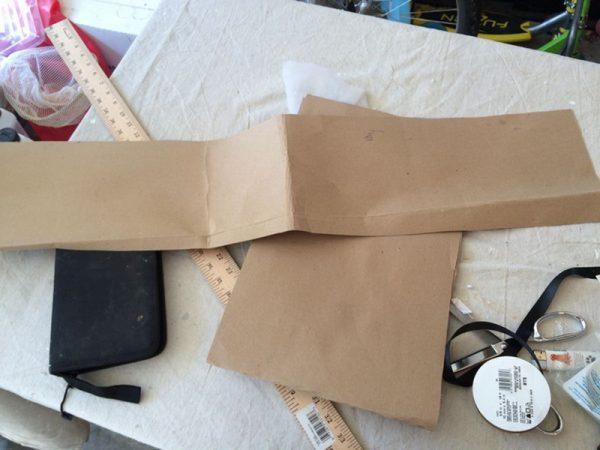 Подготовка шаблонов для обивки комода