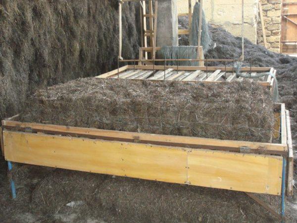 Толщина водорослевого утеплителя