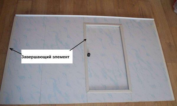 Дверки из панелей ПВХ