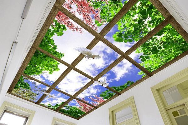Фальш-окно на потолке