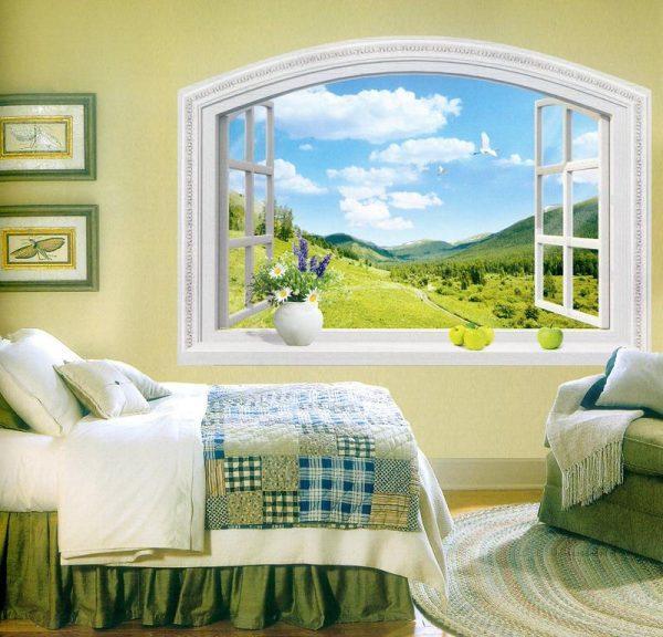 Имитация окна в комнате