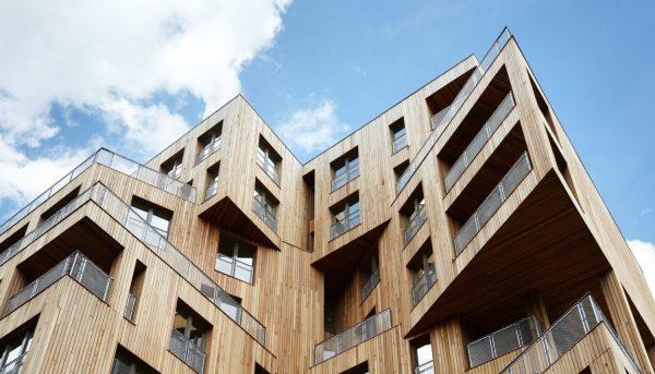 Многоэтажный дом из CLT-панелей