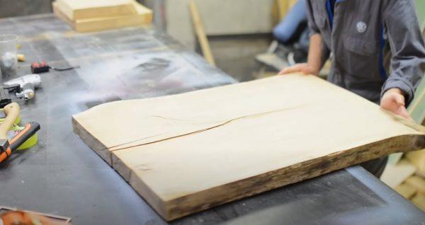 Обрезок доски для столешницы