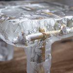 Прозрачный столик из эпоксидки