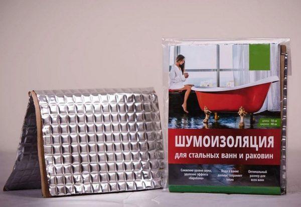 Шумоизоляция Герметекс для ванн и раковин