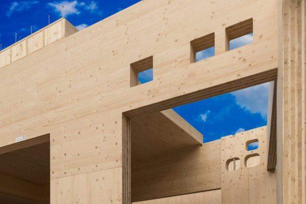 Технология Cross Laminated Timber