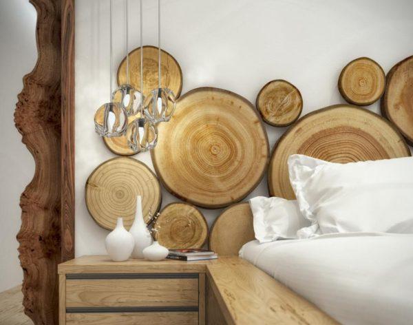 Деревянный декор в интерьере
