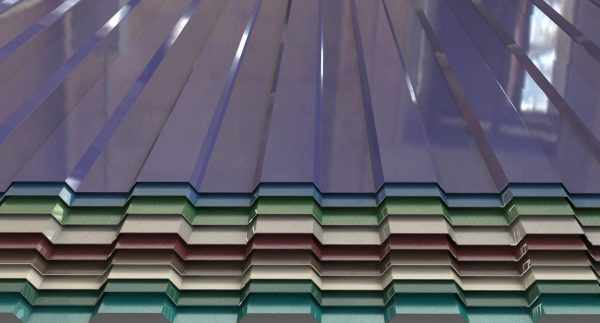 Стеновой профнастил с полимерным покрытием
